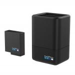 Dual Battery Charger + Battery 1 ก้อน ที่ชาร์จแบตเตอรี่สำหรับ GoPro Hero 5 Black