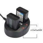 แท่นชาร์จแบตเตอรี่ USB แบบคู่ KINGMA สำหรับ NIKON EN-EL14