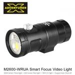 ไฟฉาย X-Adventurer รุ่น M2600-WRUA Smart Focus Video Light รับประกันสินค้า 2 ปี