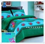 ผ้าปูที่นอนเกรด A ขนาด 6 ฟุต(5 ชิ้น)[AS-174]
