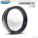 New +15 MacroMate Mini Underwater Macro Lens for GoPro 3, 3+, 4 include Adapter 55mm Thread