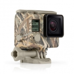 Camo Housing + QuickClip (Realtree MAX-5®) สำหรับ HERO4 Black, HERO4 Silver, HERO3+, HERO3