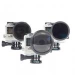 Three Pack (Polz,ND,Macro) Filter สำหรับกล้อง GoPro Hero4, Hero3+