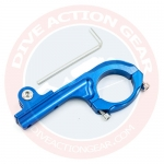1135-BU - Aluminium Bicycle handle mount สีน้ำเงิน