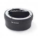 อแดปเตอร์แปลงท้ายเลนส์ OM (OLYMPUS) ใช้กับกล้อง CANNON EOS M
