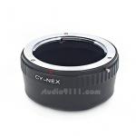 อแดปเตอร์แปลงท้ายเลนส์ C/Y CONTAX YASHICA ใช้กับกล้อง SONY NEX
