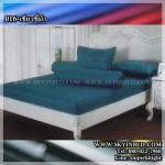 ผ้าปูที่นอนสีพื้น (สีเขียวขี้ม้า)(พื้นเรียบ) ขนาด 3.5 ฟุต 3 ชิ้น