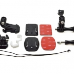 1018 - Grab Bag of Mounts Suitable for all GoPro