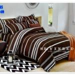 ผ้าปูที่นอนเกรด A ขนาด 5 ฟุต(5ชิ้น)[AS-240]