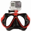 FMASK-RD Freewell Diving Mask สำหรับ GoPro สีแดง thumbnail 1