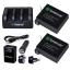 ชุด Smatree 3-Channel Charger and Battery Set Kit แบตเตอรี่ความจุ 1290mAh สำหรับกล้อง GoPro Hero4 รุ่น Black และ รุ่น Silver thumbnail 2