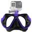 FMASK-BLUE Freewell Diving Mask Blue สำหรับ GoPro สีน้ำเงิน thumbnail 1