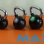 Rubber Kettle Bell Chrome Handle MAXXFiT thumbnail 15