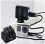 ชุด Smatree 3-Channel Charger and Battery Set Kit แบตเตอรี่ความจุ 1290mAh สำหรับกล้อง GoPro Hero4 รุ่น Black และ รุ่น Silver thumbnail 3
