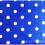 ผ้าปูที่นอนลายจุด เกรด A สีน้ำเงิน ขนาด 3.5 ฟุต 3 ชิ้น thumbnail 2