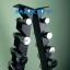 ชุดดัมเบล Chromed ขนาด 1 - 10 KG. (10 คู่) พร้อมชั้นวางทรงสามเหลี่ยมสีดำ วางได้ 10 คู่ thumbnail 6