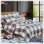 ผ้าปูที่นอนสไตล์โมเดิร์น เกรด A ขนาด 6 ฟุต(5 ชิ้น)[AS-085] thumbnail 1