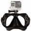 FMASK-BK Freewell Diving Mask Black สำหรับ GoPro สีดำ thumbnail 1